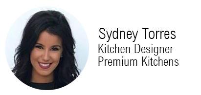 Sydney Torres, Kitche Designer