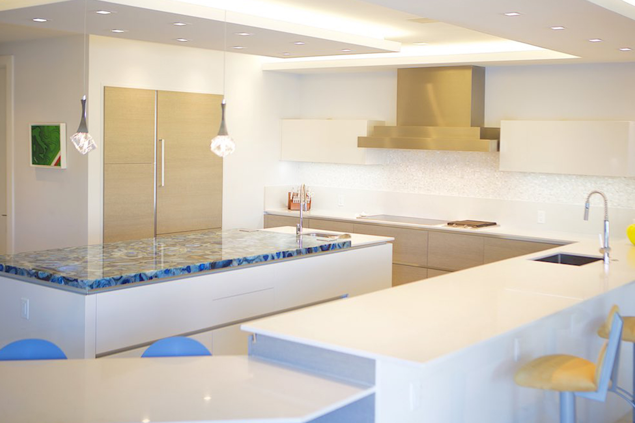 Home In East Boca Raton West Intracoastal Premium Kitchens
