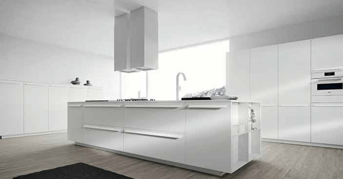 European kitchen design in Broward County