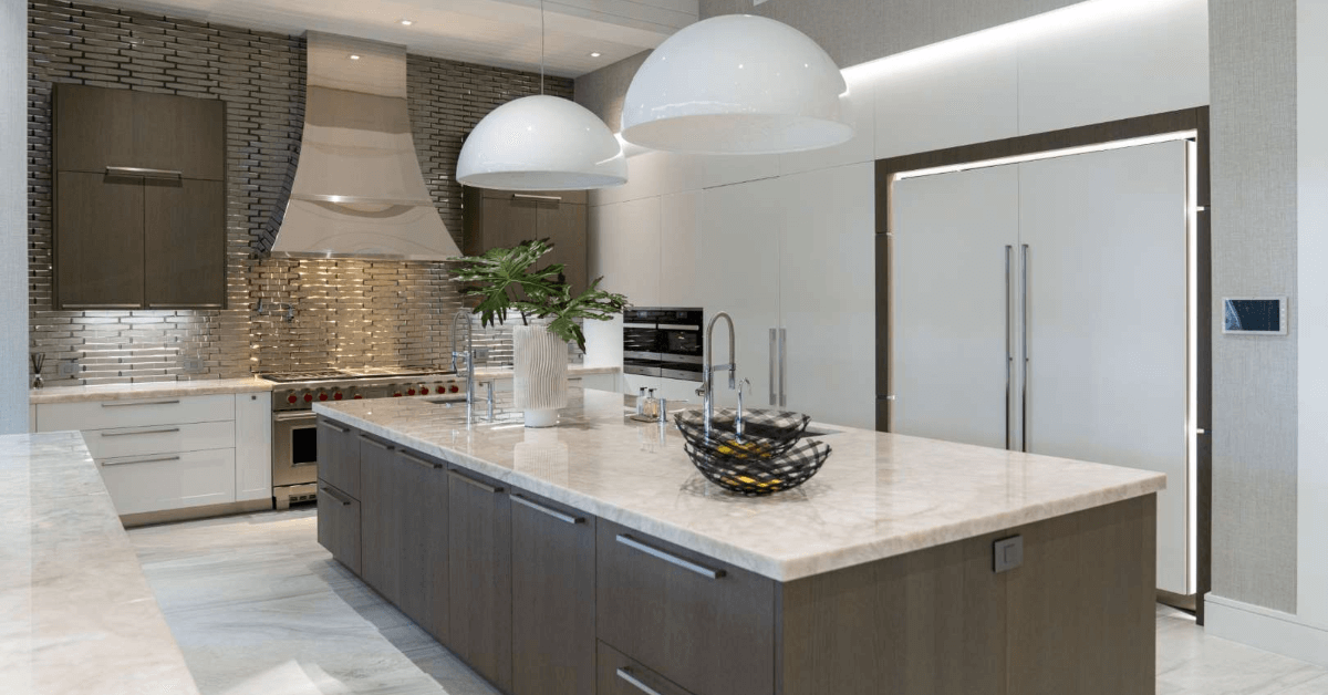 modern luxury kitchen in Broward County