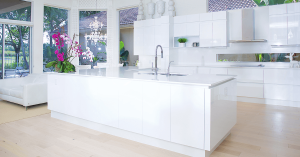 contemporary kitchen in Boca Raton