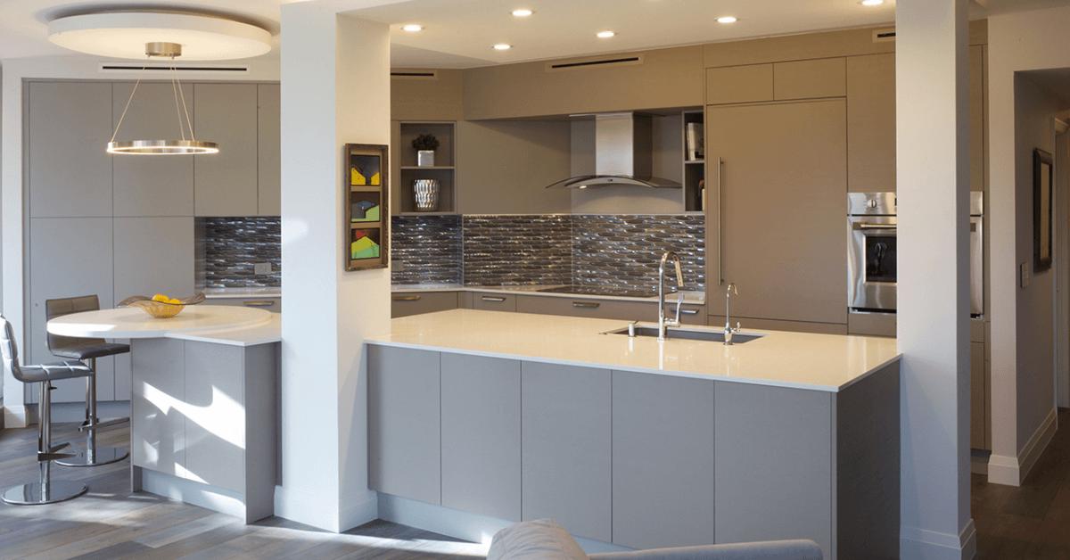 modern Italian kitchen in Boca Raton